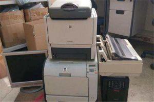 长沙回收二手办公设备,传真机,电脑